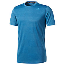 Buy Adidas Supernova Short Sleeve Running T-Shirt, Blue Online at johnlewis.com