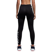 Buy Adidas Essential Logo Long Training Tights, Black Online at johnlewis.com