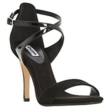 Buy Dune Madeleine Strappy Cross Strap Heeled Sandals Online at johnlewis.com