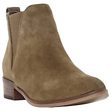 Buy Steve Madden Nickell Block Heeled Ankle Boots Online at johnlewis.com
