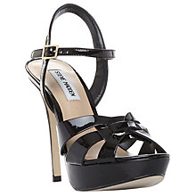 Buy Steve Madden Kaiden Peep Toe Stiletto Sandals Online at johnlewis.com