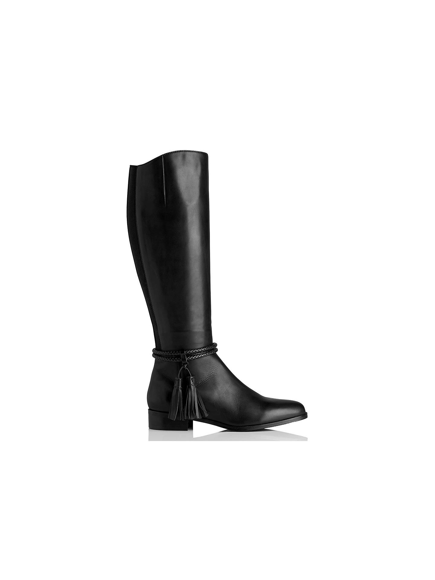 897b22490cab ... Buy L.K. Bennett Celine Knee High Boots, Black, 2 Online at  johnlewis.com ...