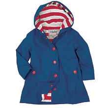 Buy Hatley Girls' Waterproof Splash Jacket, Navy Online at johnlewis.com