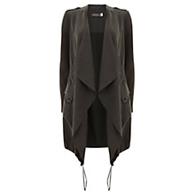 Buy Mint Velvet Military Longline Cardigan, Khaki Online at johnlewis.com