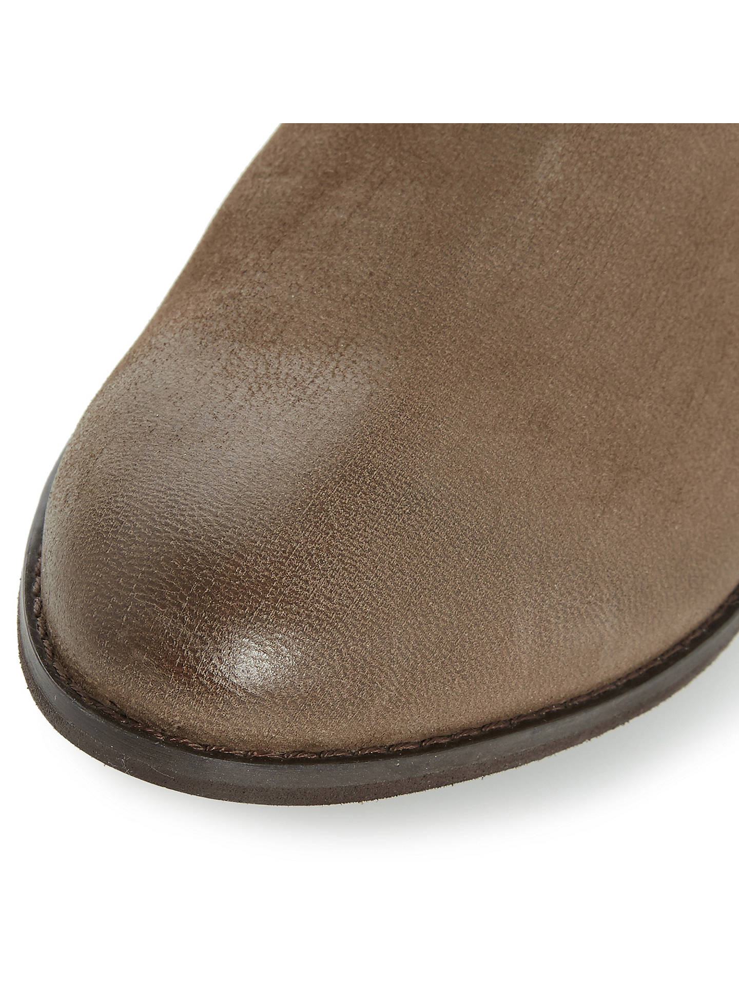 3f807a6d5bd Dune Rosalind Ruched Calf Boots at John Lewis & Partners