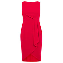 Buy Coast Petite Drew Crepe Dress, Red Online at johnlewis.com