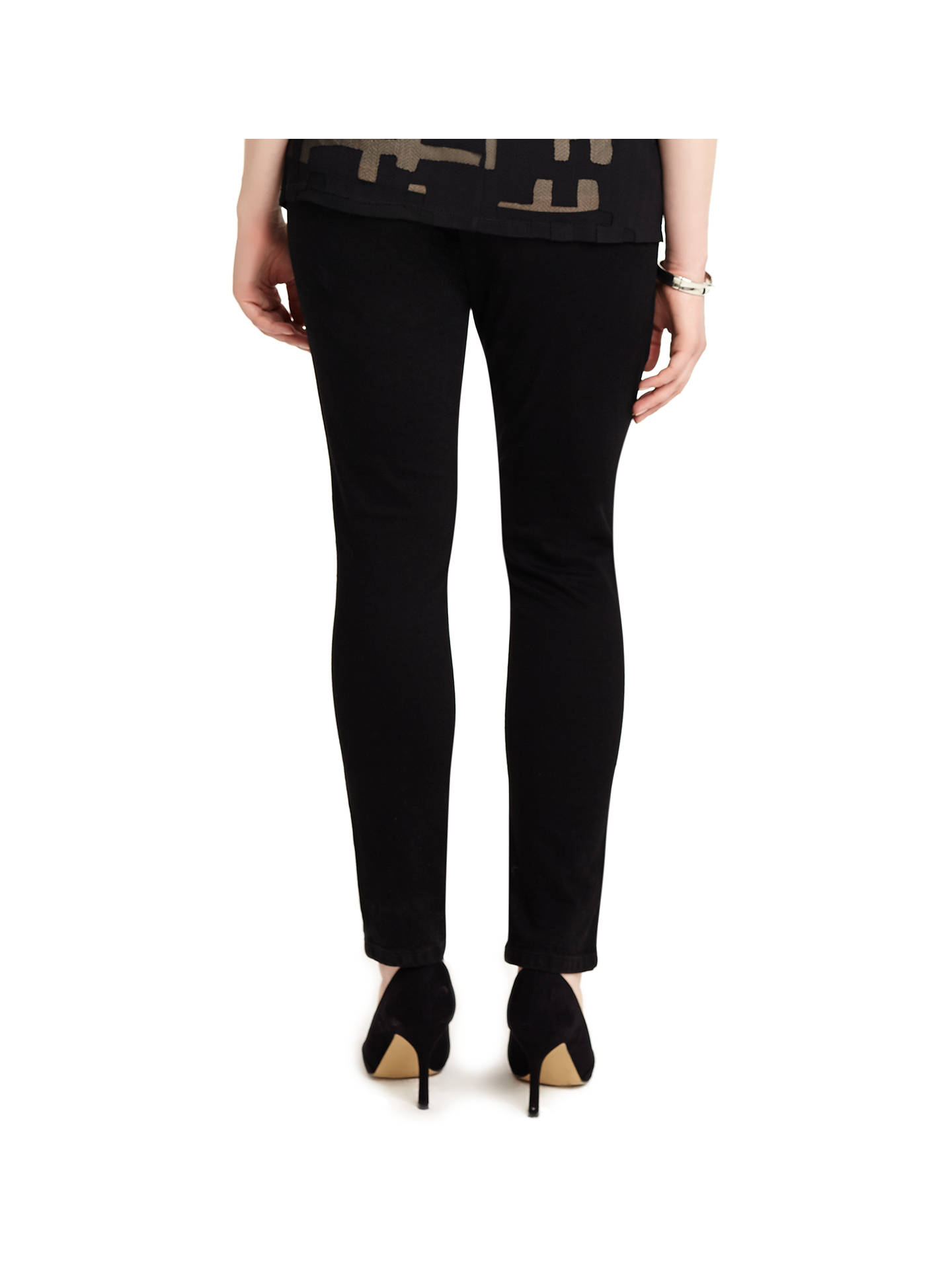 Buy Studio 8 Maddy Jeans, Black, 12 Online at johnlewis.com