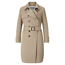 Buy Grace & Oliver Lola Textured Trench Coat, Camel Online at johnlewis.com