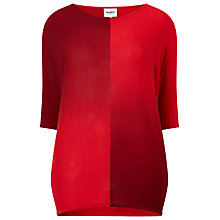 Buy Studio 8 Beth Dip Dye Batwing Jumper, Red Online at johnlewis.com