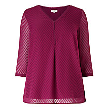 Buy Studio 8 Blake Top, Magenta Online at johnlewis.com