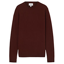 Buy Jigsaw Wool Cashmere Pique Crew Neck Jumper Online at johnlewis.com