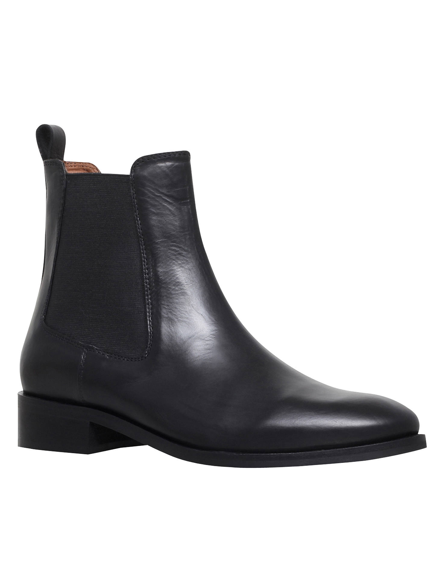 BuyKurt Geiger London Dalby Ankle Chelsea Boots, Black, 3 Online at johnlewis.com