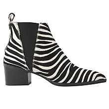 Buy Whistles Belmont Pointed Toe Block Heeled Ankle Boots Online at johnlewis.com