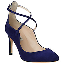 Buy L.K. Bennett Melinda Cross Strap Court Shoes Online at johnlewis.com
