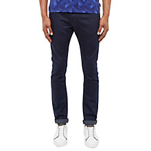 Buy Ted Baker Tignus Tapered Fit Jeans, Rinse Denim Online at johnlewis.com