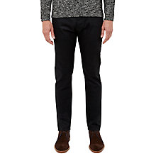 Buy Ted Baker T for Tall Samtt Rinse Wash Straight Jeans, Black Online at johnlewis.com