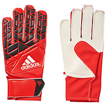 Buy Adidas Junior Ace Training Goalkeeper Gloves, Red Online at johnlewis.com