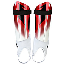 Buy Adidas Messi 10 Youth Football Shin Guards, White Online at johnlewis.com