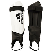 Buy Adidas Ghost Club Shin Guards, White Online at johnlewis.com