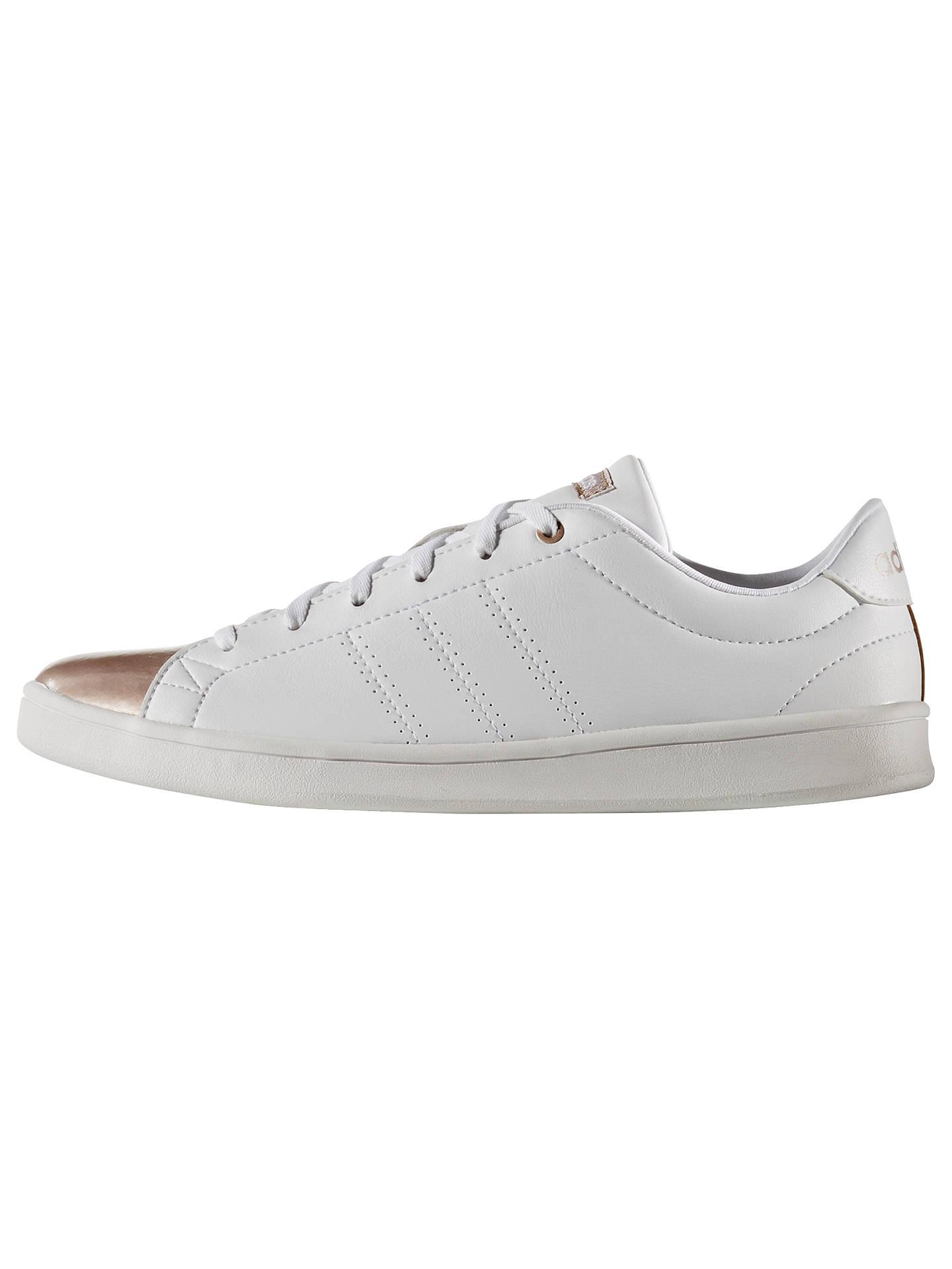 Adidas Neo Advantage Clean Qt White Black Women Casual