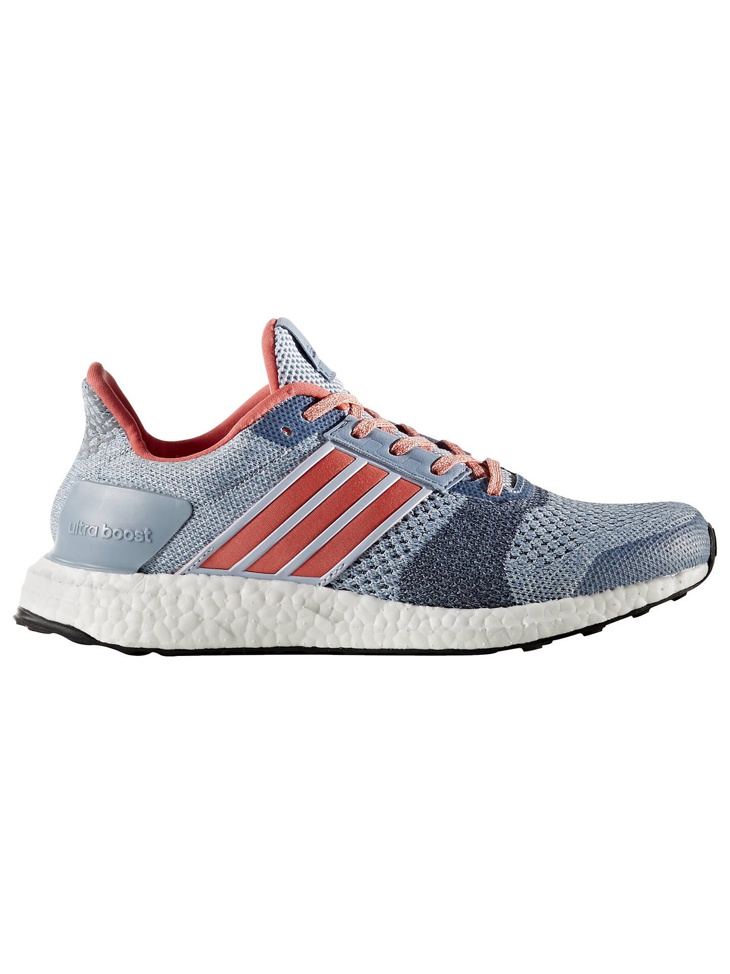 Adidas Ultra Boost ST Women's Running Shoes, Blue at John