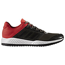 Buy Adidas ZG Bounce Men's Cross Trainers, Black/Red Online at johnlewis.com