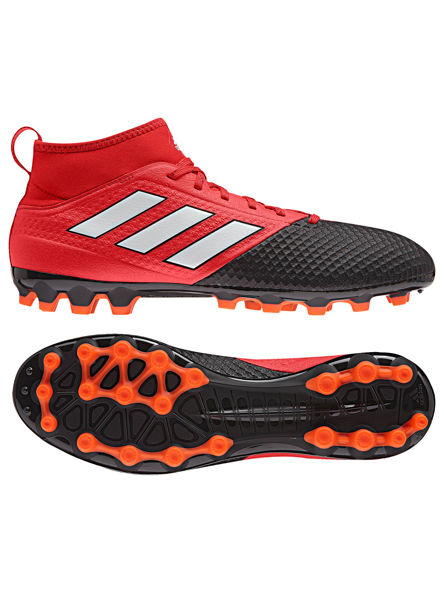 uk availability 6dfbe 5e3ad ... Buy Adidas Ace 17.3 Primemesh AG Men s Football Boots, Red Black, 7  Online ...