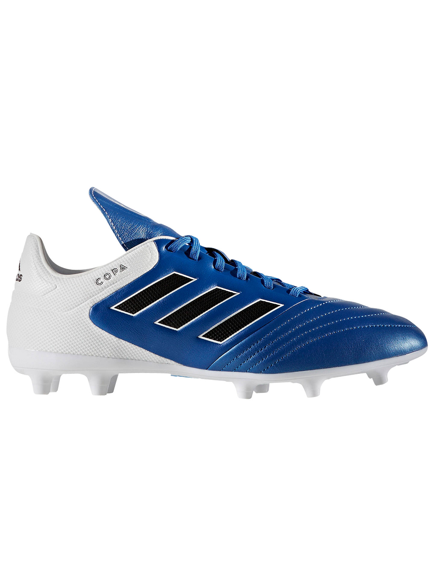 new concept deb1e 48248 BuyAdidas Copa 17.3 FG Mens Football Boots, BlueWhite, 7 Online at  johnlewis ...
