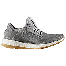Buy Adidas Pureboost X Women's Running Shoes, Grey Online at johnlewis.com