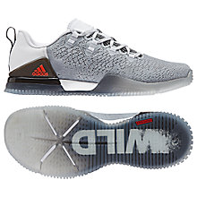 Buy Adidas CrazyPower Women's Cross Trainers, White/Grey Online at johnlewis.com