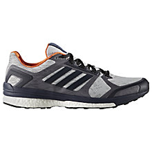 Buy Adidas Supernova Sequencials Men's Running Shoes, Grey Online at johnlewis.com