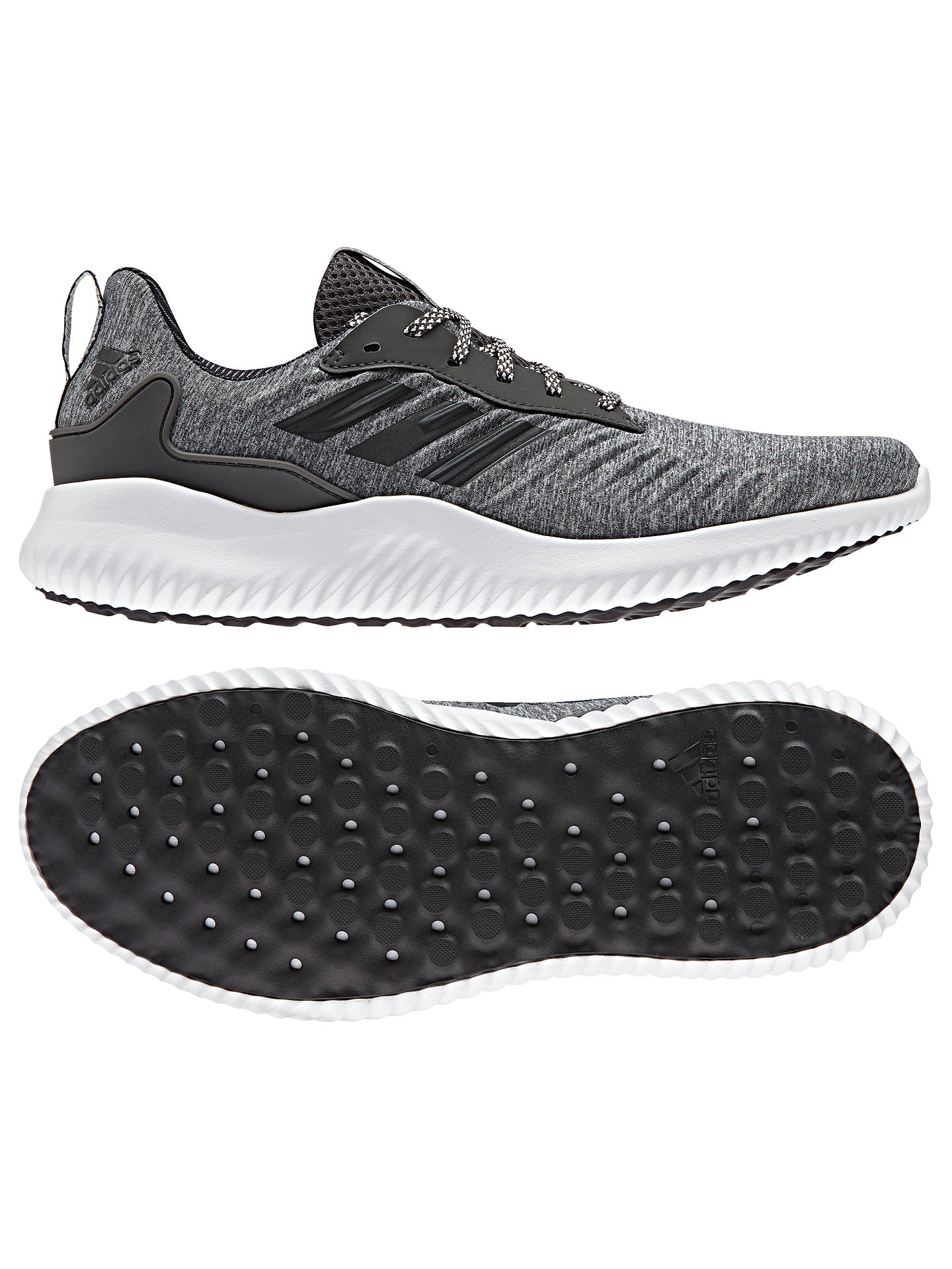 Adidas Alphabounce RC Men's Running Shoes, Dark Grey Heather