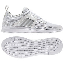 Buy Adidas Durama Women's Running Shoes, White Online at johnlewis.com