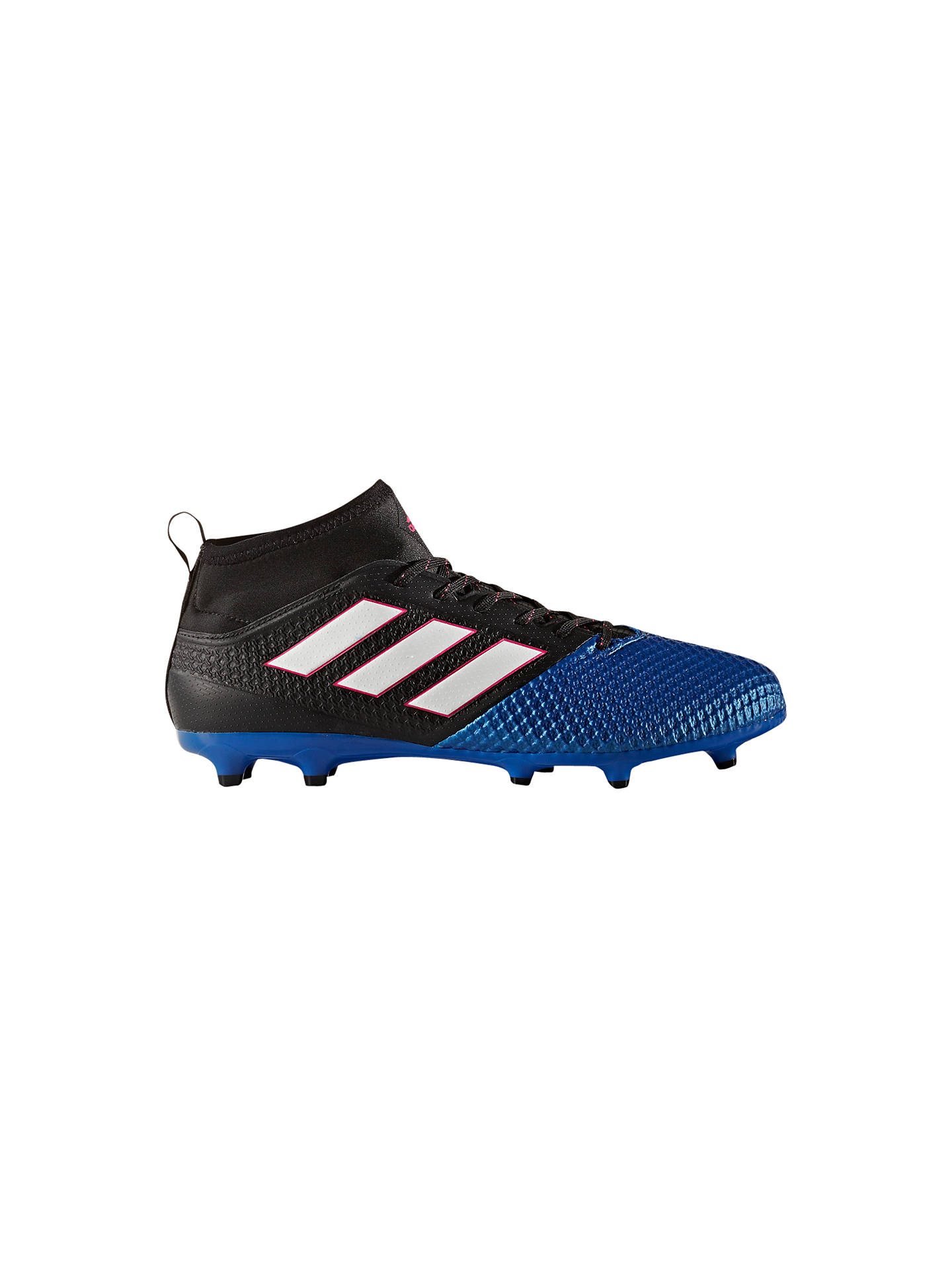 3e5444a6cb0f Buy Adidas Ace 17.3 Primemesh Men's Football Boots, Black/Blue, 7 Online at  ...