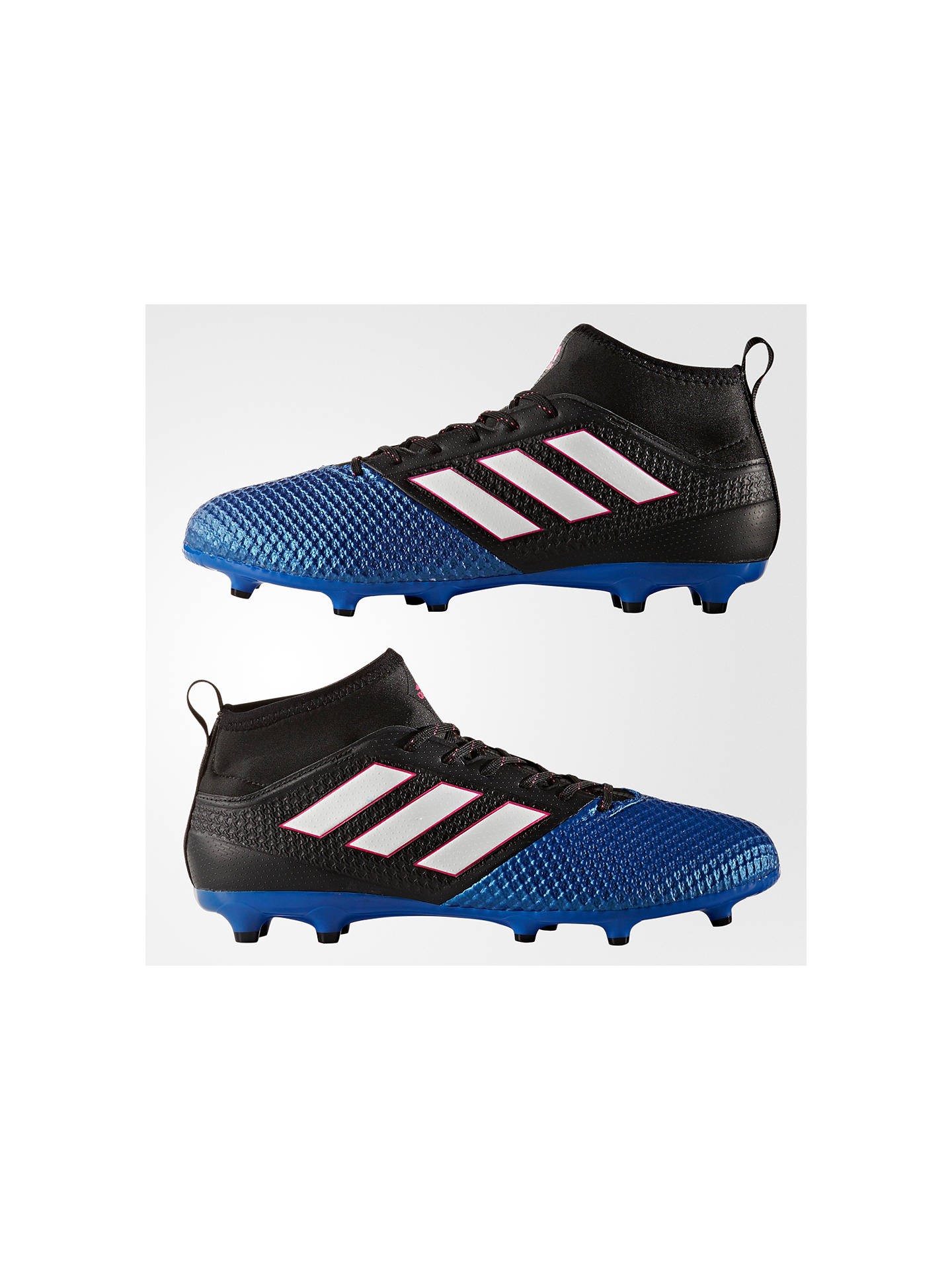 accee885e50b ... Buy Adidas Ace 17.3 Primemesh Men's Football Boots, Black/Blue, 7 Online  at ...