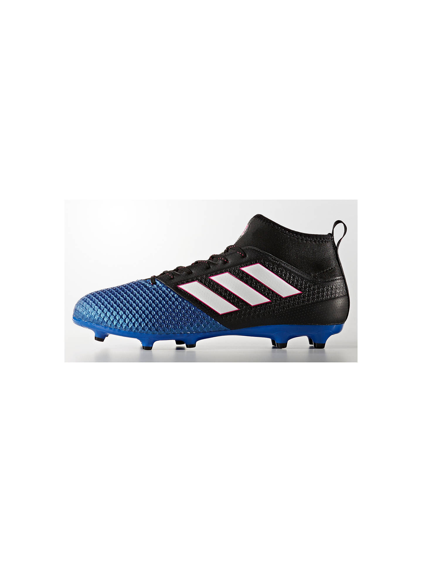 7028801c ... Buy Adidas Ace 17.3 Primemesh Men's Football Boots, Black/Blue, 7  Online at ...