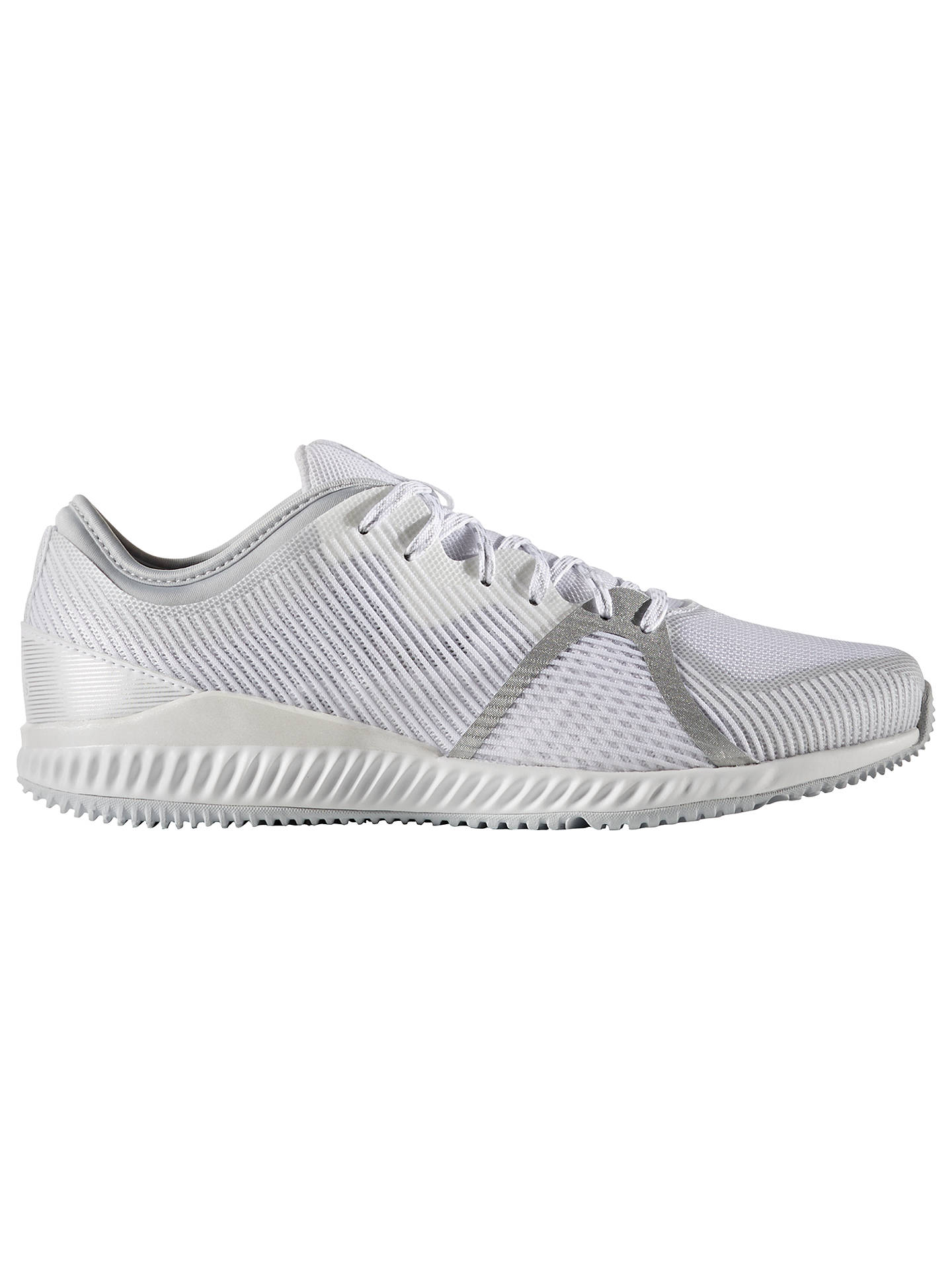 check out 48df1 fce40 Buy Adidas CrazyTrain Bounce Women s Cross Trainers, White, 4 Online at  johnlewis. ...