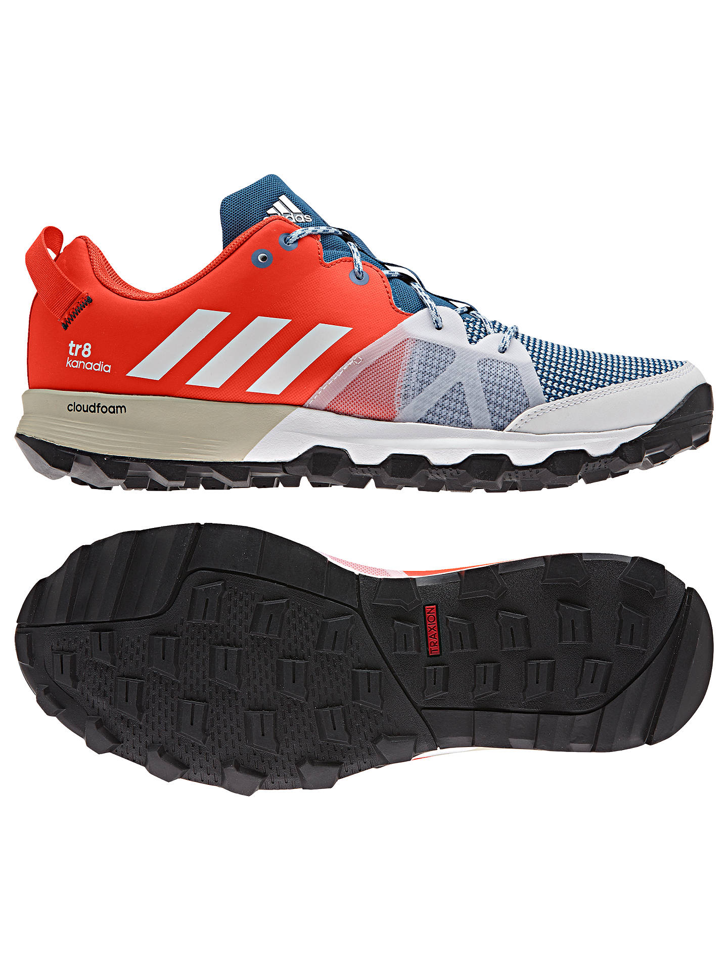 Lírico Infantil selva  Adidas Kanadia 8 Trail Men's Running Shoes at John Lewis & Partners