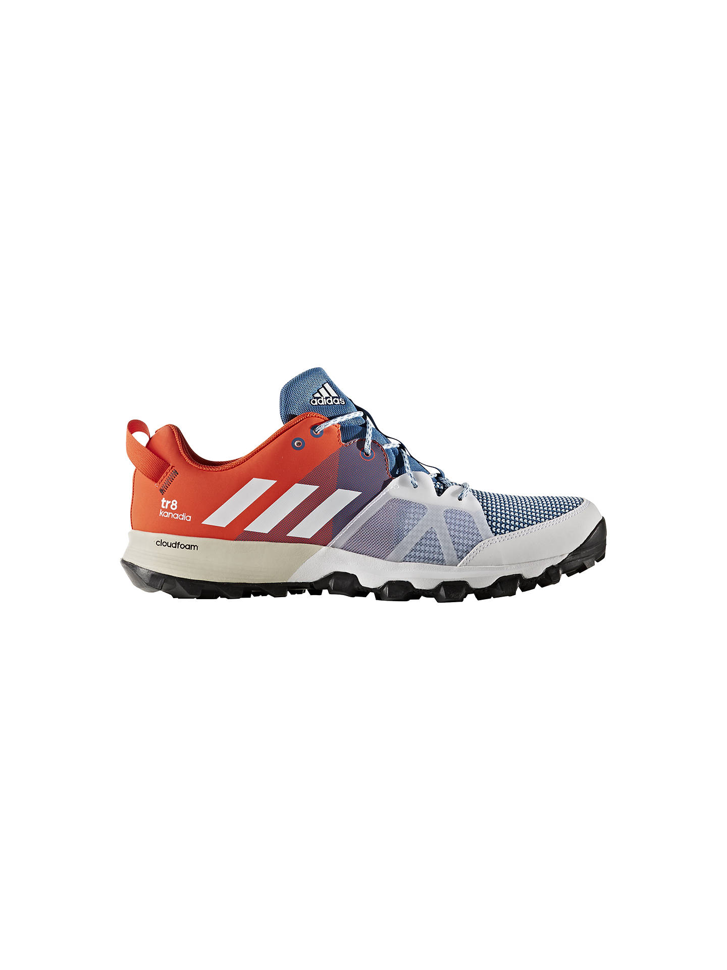 Adidas Kanadia 8 Trail Men s Running Shoes at John Lewis   Partners 0fdd64346d5