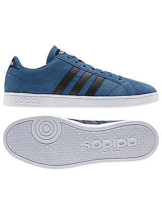 Adidas Neo Baseline Men's Trainers, Blue at John Lewis & Partners