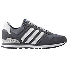 Buy Adidas Neo 10K Casual Women's Trainers, Black Online at johnlewis.com