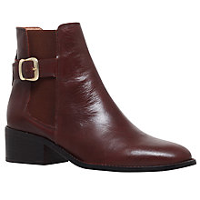 Buy Kurt Geiger Storm Mid Heel Ankle Boots Online at johnlewis.com