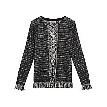 Buy Gerard Darel Kuzco Cardigan, Black Online at johnlewis.com