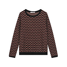 Buy Gerard Darel Basile Jumper, Dark Red Online at johnlewis.com