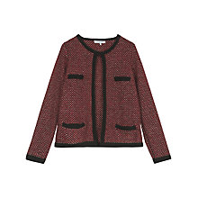 Buy Gerard Darel Miro Alpaca Jacket, Red Online at johnlewis.com