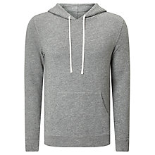 Buy Denim & Supply Ralph Lauren Popover Knitted Hoodie, Battalion Heather Online at johnlewis.com