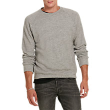 Buy Denim & Supply Ralph Lauren Cotton French Terry Sweatshirt, Battalion Heather Online at johnlewis.com