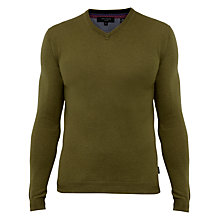 Buy Ted Baker Cashguy V-Neck Jumper Online at johnlewis.com
