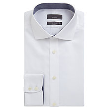 Buy John Lewis Non Iron Dobby Slim Fit Shirt Online at johnlewis.com