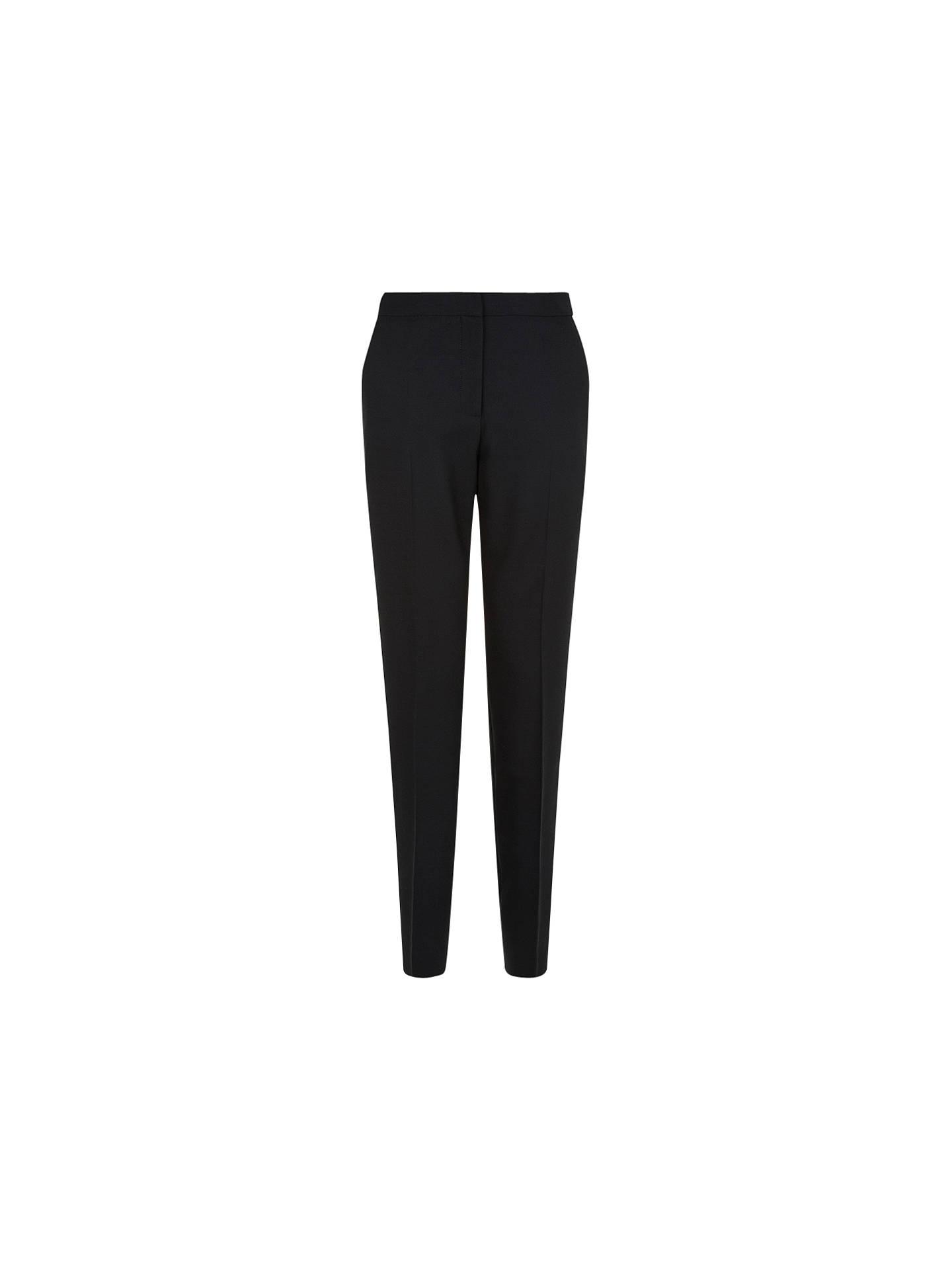 aab16901b19a2 Buy Hobbs Gael Trousers, Black, 6 Online at johnlewis.com ...